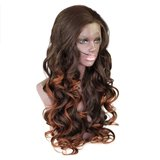 Synthetic Bouncy Curly Lace Front Wig 20 inch_