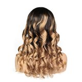 Brazilian Remy Wavy Lace Front Wig_