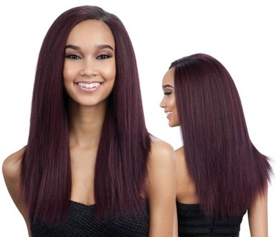 Shake-N-GO Que Mastermix Malaysian Ironed Texture Natural Straight 7 Pcs
