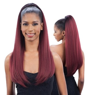 Freetress Equal Drawstring Ponytail Yaky Bounce 30 inch