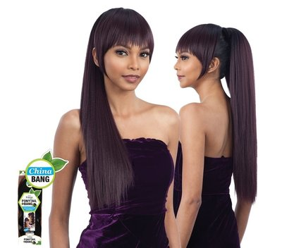FreeTress Equal Yaki Straight & China Bang 2 pcs