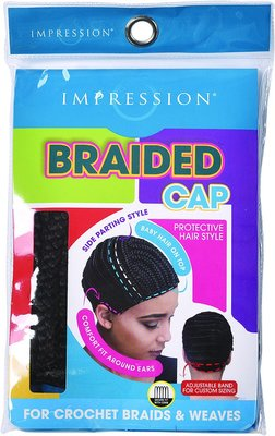 Impression Braided Full Bang Style Cap