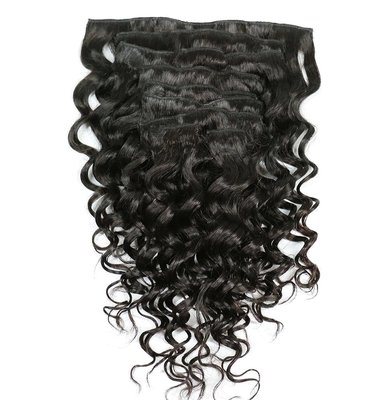 Brazilian Natural Wave Clip-Ins