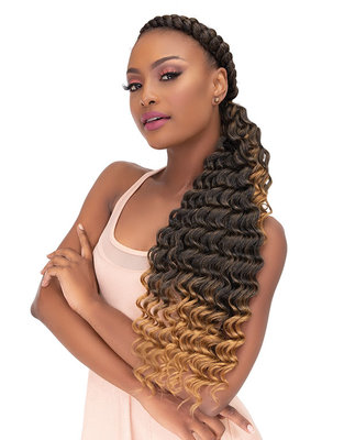 Janet Collection Pre-Stretched 5X EZ OCEAN WAVE 24 inch