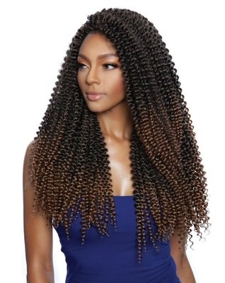 Afri-Naptural CARIBBEAN CB1807 - PASSION WATER WAVE 18 inch
