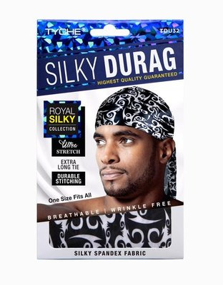 Tyche Silky Durag Royal Silky Collection Ultra Stretch