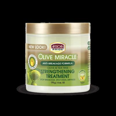 African Pride Olive Miracle Anti-Breakage Creme 170g