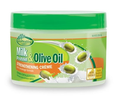 GroHealthy Milk Protein & Olive Oil Strengthening Créme 250g