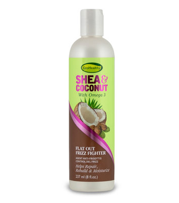 GroHealthy Shea & Coconut Flat Out Frizz Fighter 237ml