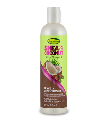 GroHealthy Shea & Coconut Leave In Conditioner 237ml