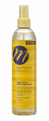 Motions Light Hold Working Spritz 354ml