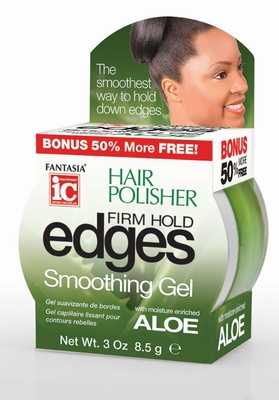 Fantasia IC Hair Polisher EDGES FIRM HOLD Smoothing 8.5g