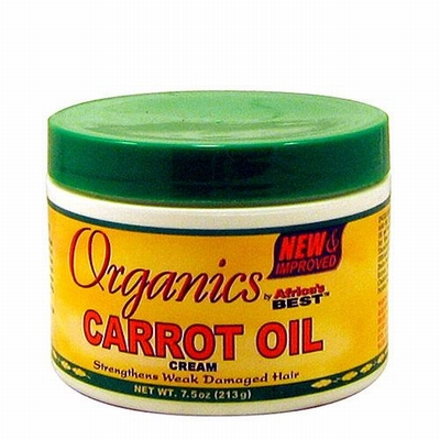 Africa's Best Organics Carrot Oil Cream 213g