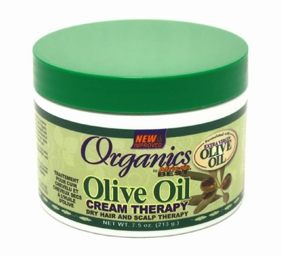 Africa's Best Organics Olive Oil Dry Hair and Scalp Therapy 213g