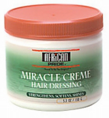 African Pride Miracle Creme Hair Dressing 150g