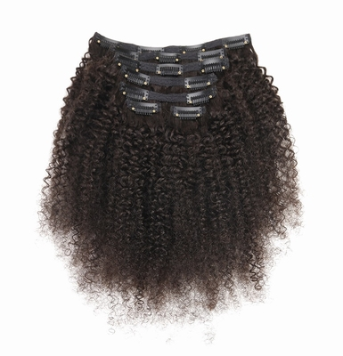 Brazilian Afro Kinky Curly Clip-Ins