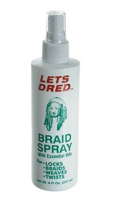 Lets Dred Braid Spray & Essential Oils 237ml