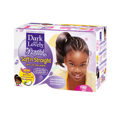 SoftSheen Carson Dark and Lovely Beautiful Beginnings No-Mistake Nourishing No-Lye Crème Relaxer