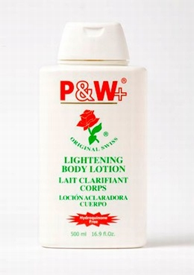 P & W+ Lightening Body Lotion