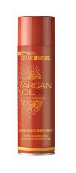 Creme of Nature Argan Oil Replenishing Sheen Spray 473.1ml