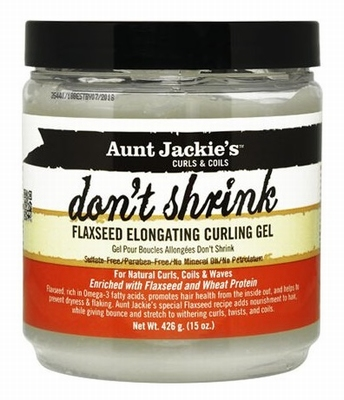 Aunt Jackie's Curls & Coils Don't Shrink Curling Gel 426g