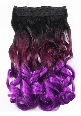 Curly Clip-In Hair Extensions