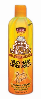 African Pride Shea Butter Miracle Silky Hair Moisturizer 355ml