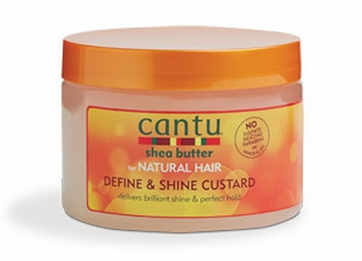 Cantu Shea Butter for Natural Define & Shine Custard 340g