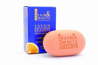 Fair & White Exclusive Exfoliating Soap 200g