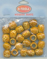 H-toolz Wooden Beadz 24 stuks