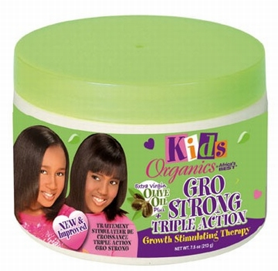 Africa's Best Kids Organics Gro Strong Triple Action Growth Stimulating Therapy 213g