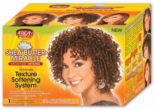 African Pride Shea Butter Miracle Texture Softening System - 1 Application