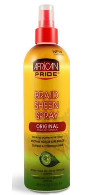 African Pride Braid Sheen Spray 355ml