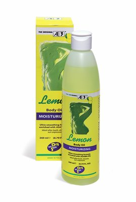 A3 Lemon Moisturizing Body Oil 260ml