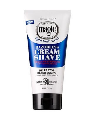 SoftSheen Carson Magic Razorless Cream Shave Regular 170g