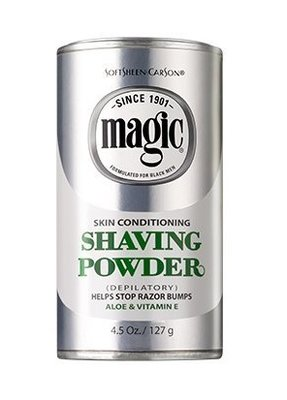 SoftSheen Carson Magic Skin Conditioning Shaving Powder 142g
