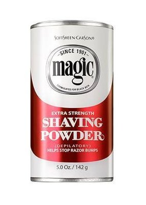 Softsheen Carson Magic Extra Strength Shaving Powder Red 142g