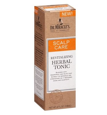 Dr. Miracle's Scalp Care Revitalizing Herbal Tonic 118ml