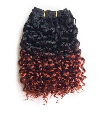 Mongolian Kinky Curly 8 inch