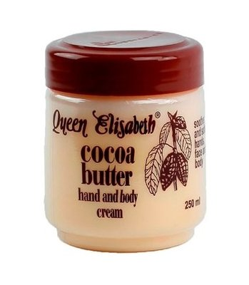 Queen Elisabeth cocoa butter hand and body cream 250ml
