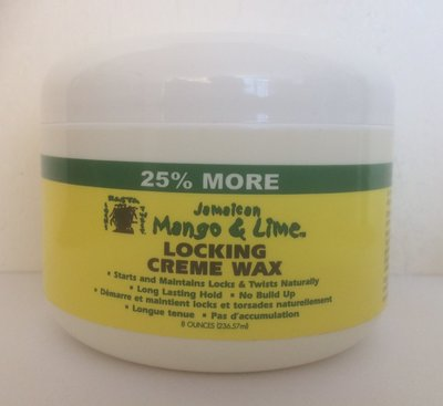 Jamaican Mango & Lime Locking Creme Wax 236.57ml