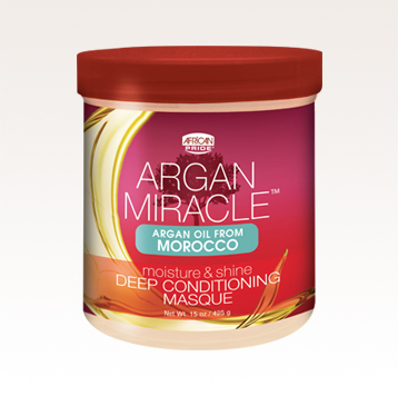 African Pride Argan Miracle Moisture & Shine Deep Conditioning Masque 425g