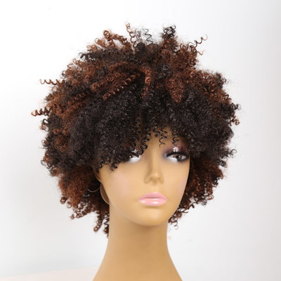 Afro Kinky Curly Wig 8 inch