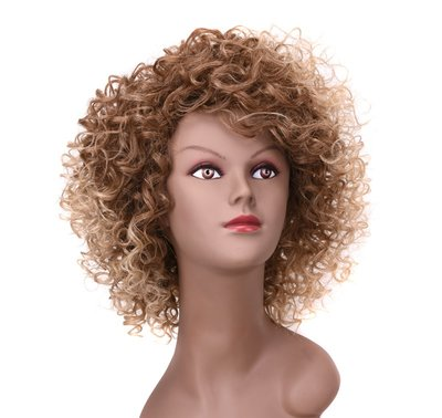 Synthetic Curly Wig 10 Inch