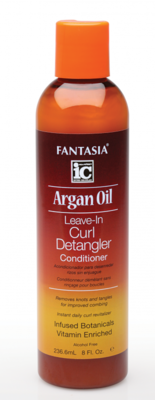 Fantasia IC Argan Oil Leave-In Curl Detangler Conditioner 236.6ml