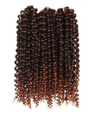 Savanna Jerry Curl 3X Braid DREAM HAIR 10 inch