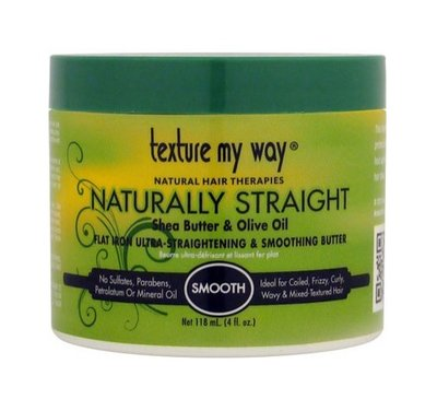 Texture My Way Naturally Straight Flat Iron Ultra-Straightening & Smoothing Butter 118ml