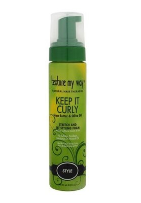 Texture My Way Keep It Curly Stretch and Set Styling Foam 251ml