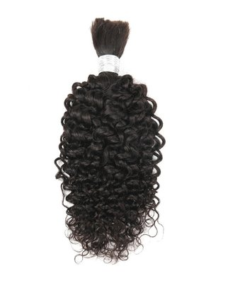 Brazilian Afro Kinky Curly Bulk Hair