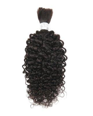 Brazilian Afro Kinky Curly Bulk Hair 20 inch